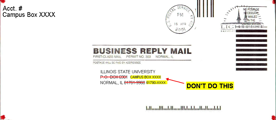Reply mail information an example of a bad business reply envelope cheaphphosting Gallery